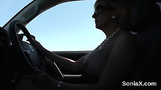 Unfaithful Uk Mature Lady Sonia Shows Off Her Monster Breast