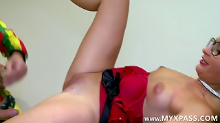 Young And Sweet Secretary Gets Assfucked