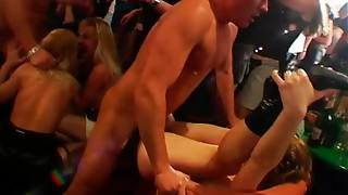 Slippery Wet Orgy Party