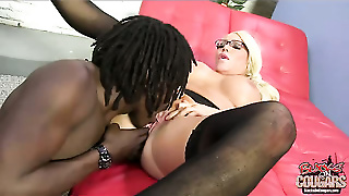 Fake Huge Juggs, Milf, Doggy Style, Big Boobs, Anal, Cunilingus, Kissing, Gagging, Anal Fuck, Shaved, Blond