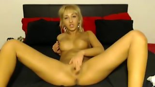 Euro Blonde Fingering Hard Hd