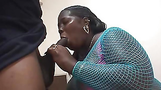 Its Large By A Dick Fucks Her Fat Pussy