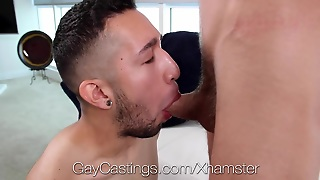 Gaycastings - Bearded Twink Hayden Fucked By Casting Agent