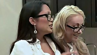 Slutty Babes Use Toys In Swinger Reality Show