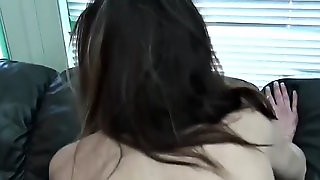 Sweet Girl Gets Fucked On The Couch