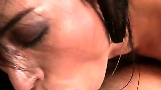 Excited Milf Sucking Fat Cock In Close-Up
