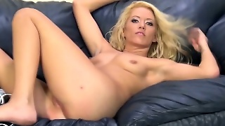 Toying Blonde Pornstar