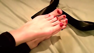 Painted Toes, Foot Fetish, Shoe, Fetish, Straight