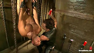 Leo Forte Gets Whipped And And Humiliated By Another Man