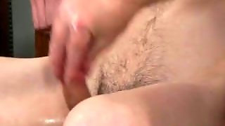 Chinese Gay Sex A Cock Throbbing Wank Off!