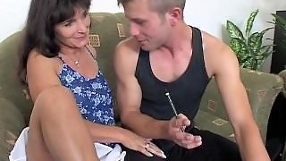 Hot Mother, Granny Old, Hot Anal, Old Cougar, Boys Granny, Boys Double, Mature And Two Young, Mother And Two Boys