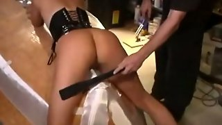 Gorgeous Ass Spanked And Whipped