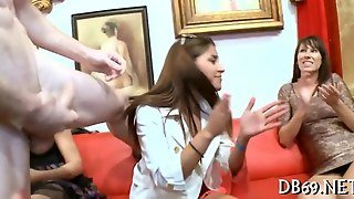 Lively And Erotic Pecker Pleasuring With Cum Shots