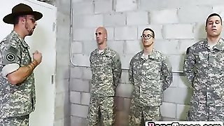 Gay Trooper Gets Trap And Behind Filled In Threesome