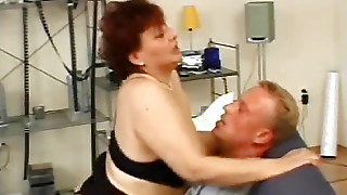 Fat Woman Fucks With A Man