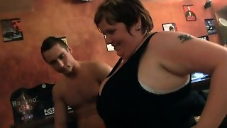 Huge Tits Group Party In The Pub
