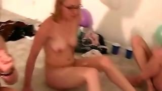 Teen Party Turns Orgy