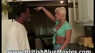Roxy Jo - British Hardcore Interracial With Big Omar
