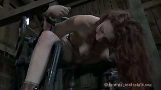Slave Girl In Rubber Mask Deep Throats Big Cock Of Her Master