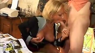 Cocksucking German Treated To Anal Sex