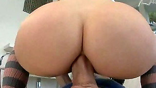 Blonde Milf Does Anal