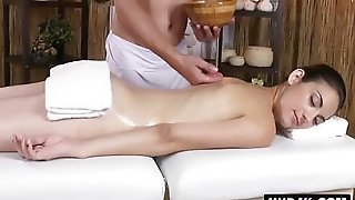Gorgeous Czech Girl Gentle Pussy Massage