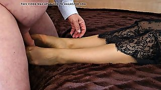 Feet In Nylon - Video 23