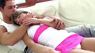 Sensual Missionary Lovemaking With A Petite Teen