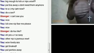 Gril On Omegle