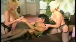 Retro Mature French Fisting Trio