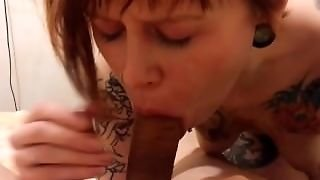 Young, Tattoo, Redhead, Sara Jerzy, Amateur, Cumshot, Blowjob, Creampie, Verified Amateurs, Teenager