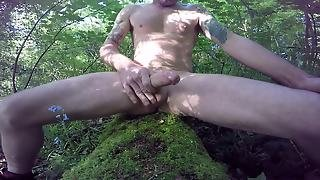 Wanking In Nature