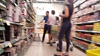 Beautiful Russian Ass In The Supermarket
