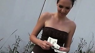 Czech Girl Ebbi Pounded And Mouth Cum