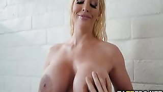 Milf Alura Ride On Jordi's Cock
