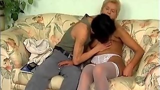 Grannies Loves Young Cocks V
