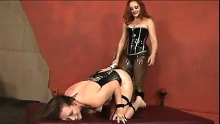 Milf Lesbians In Lingerie Bdsm And Toying