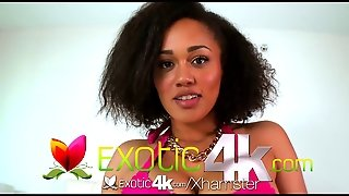 4K Hd - Exotic4K Hard Cock Between Ebony Julie Kays Boobs