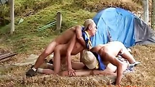 Boy Scouts Go Gay Camping