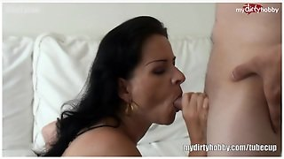 Blonde German Mom Fucked Hard!