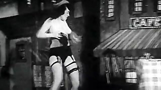 Dancing Teen To Shows Her Lingerie (1950S Vintage)