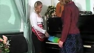 Russian, Lesbians, Stockings