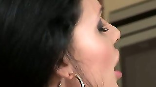 Backstage With Two Gorgeous Lesbian Brunettes Named Aletta Ocean And Zafira