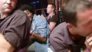 Horny Gay Men Goes Cock Crazy In The Club
