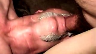 Poor Ex Convict Gets To Ride Cock