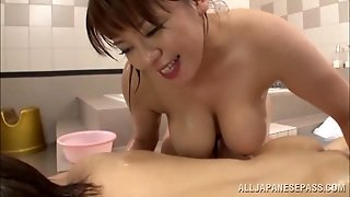 Cowgirl With Big Tits Gets Pinned Hardcore In The Bathroom
