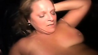 Public Gang Bang Amateur Facialized