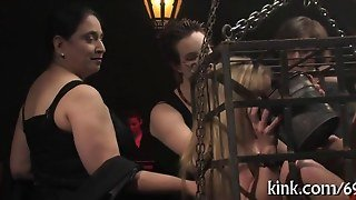 Bdsm Session And The Bitch Gets Cummed On