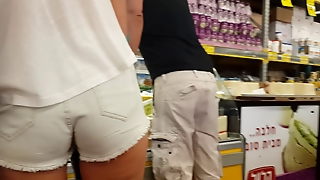 Israel . At The Supermarket.