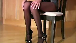 Stockings Fetish, Femdom Foot, Pantyhose Femdom, Nylon Footfetish, Feet Jerk, Stockings Milf Solo, Milf In Nylon Stockings, Legs Jerk